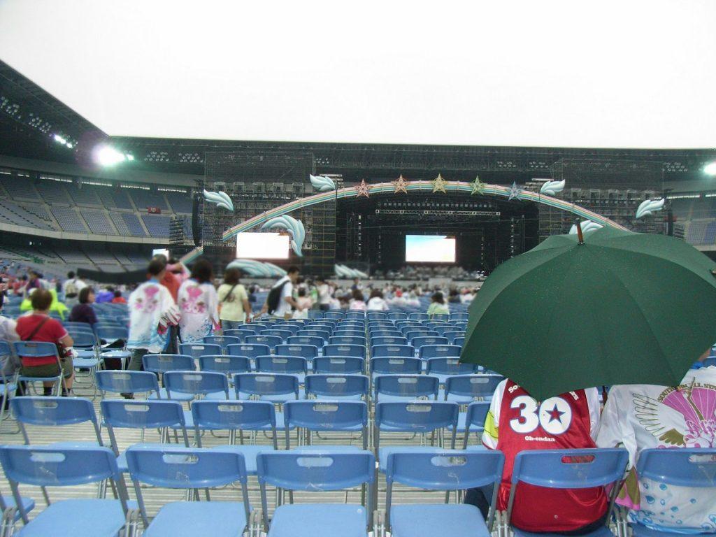 2008年8月30周年記念LIVE(横浜スタジアム)